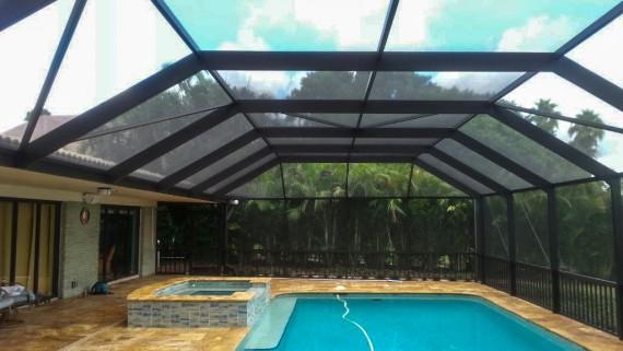 Seaton Rescreen Tampa Fl Pool Screen Replacement Amp Repair