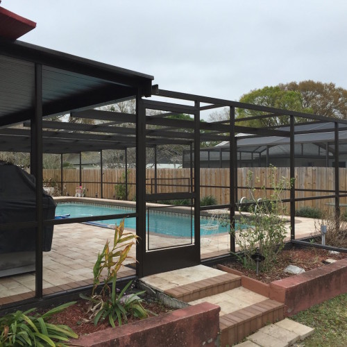 Restoration Hardware Florida: Pool Cage Restoration & Screen Replacement Brandon, FL