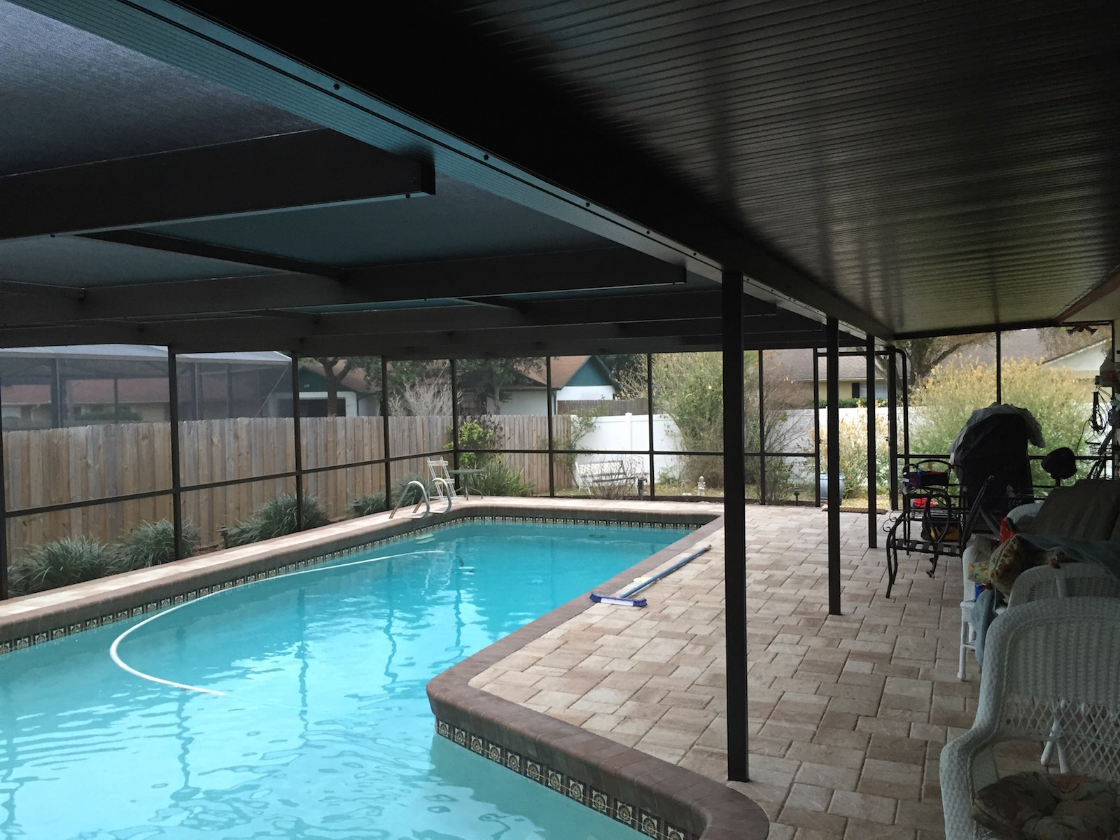 Pool Cage Restoration Amp Screen Replacement Brandon Fl
